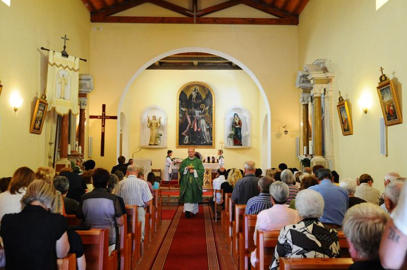 Фунтана. Церковь Св. Бернарда. Funtana.