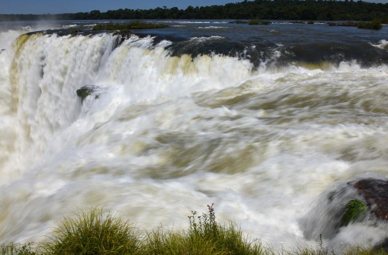 Водопады Игуасу. Глотка Дьявола. Аргентина. Iguasu Waterfall. Argentina.