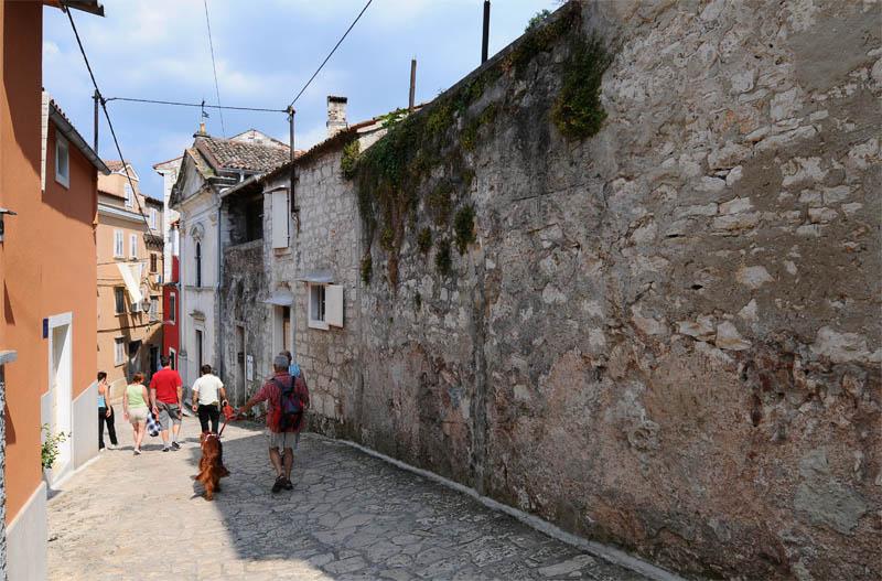 Фото 19. Ровинь. Крпостная стена. Хорватия.Rovinj