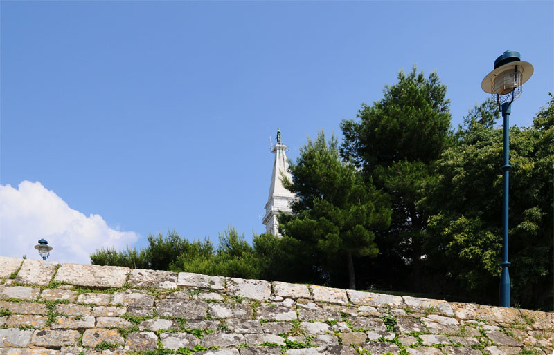 Фото 24. Ровинь. Крепостная стена. Rovinj. Croatia