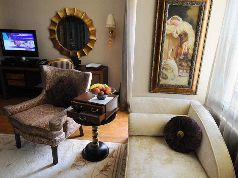 Мардан Палас. Интерьер номера. Mardan Palace. Room. 45