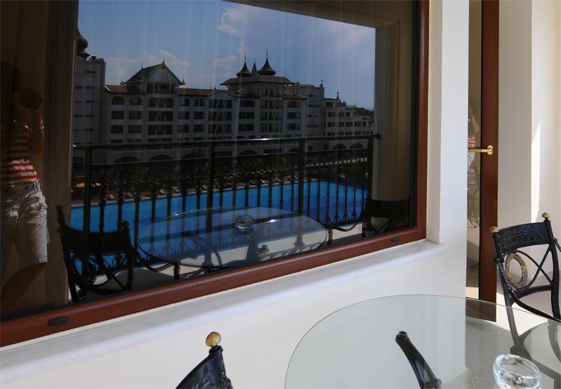 Мардан Палас. Вид из номера. Mardan Palace. View from Room. 48