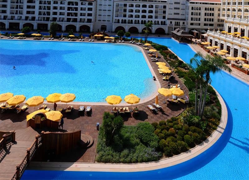 Мардан Палас. Вид из номера. Mardan Palace. View from Room. 49