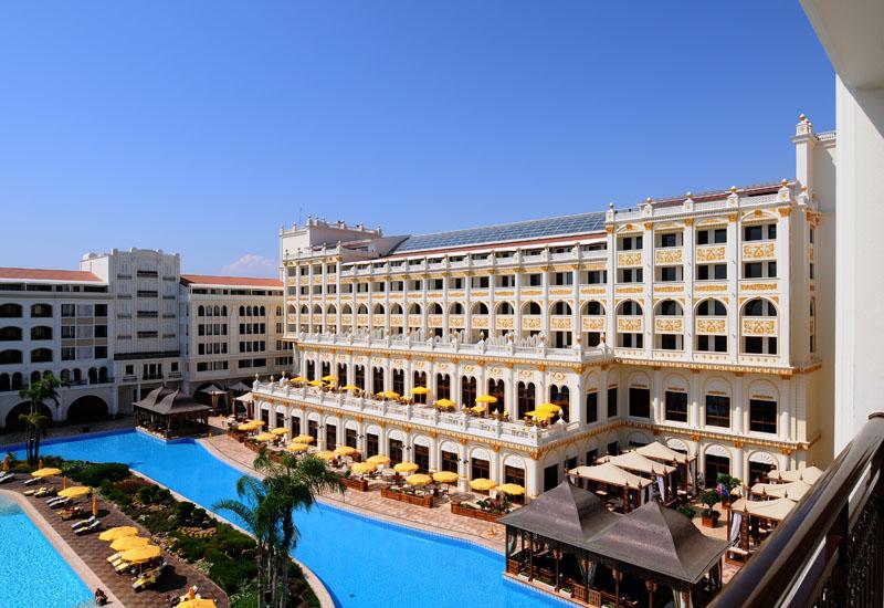 Мардан Палас. Вид из номера. Mardan Palace. View from Room. 50