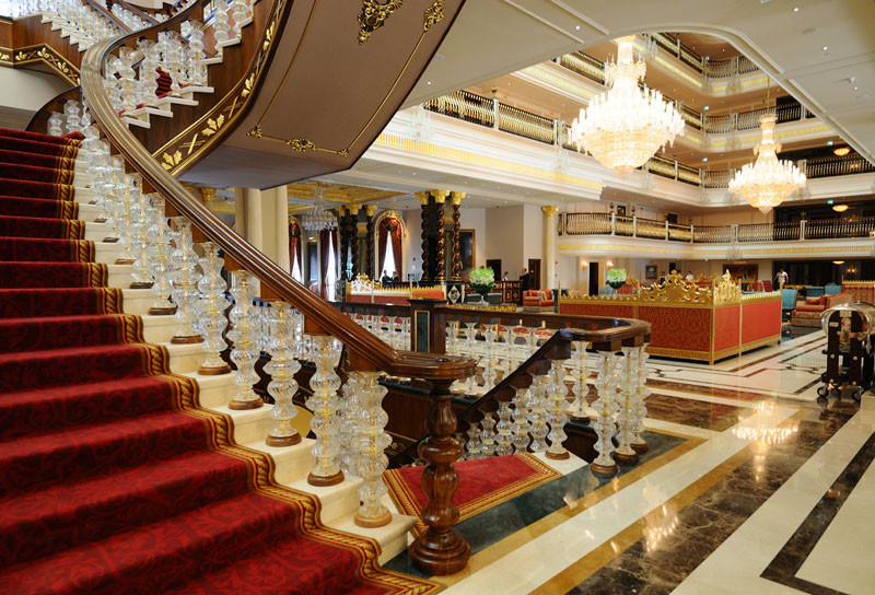 Мардан Палас. Лобби. Лестница. Mardan Palace. 19