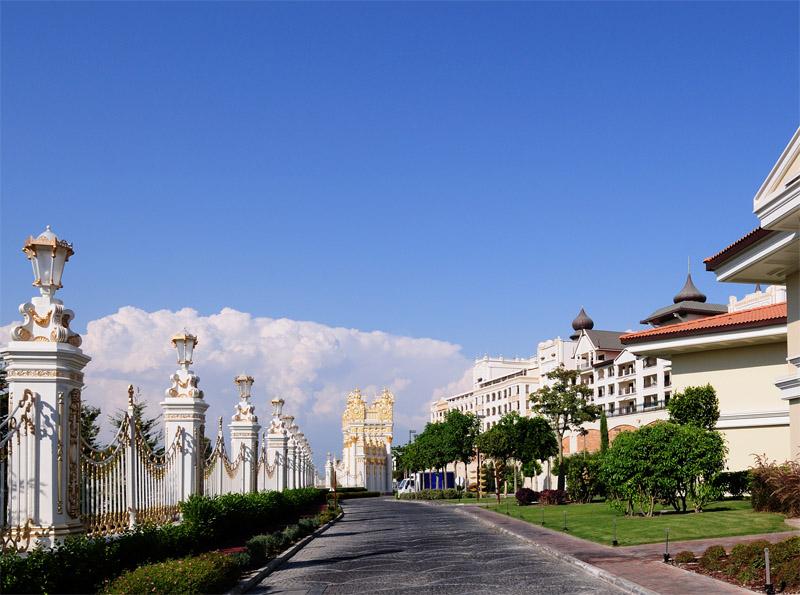 Мардан Палас. Ограда. Mardan Palace. 22