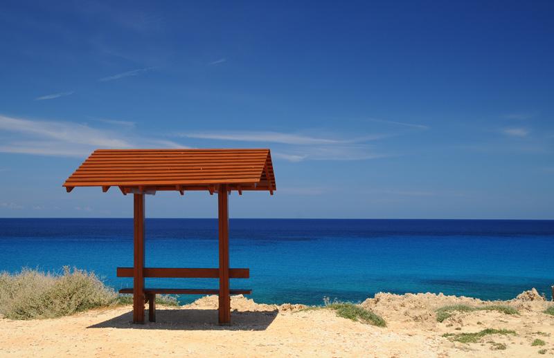 Кипр. Мыс Греко. Просто беседка. 2