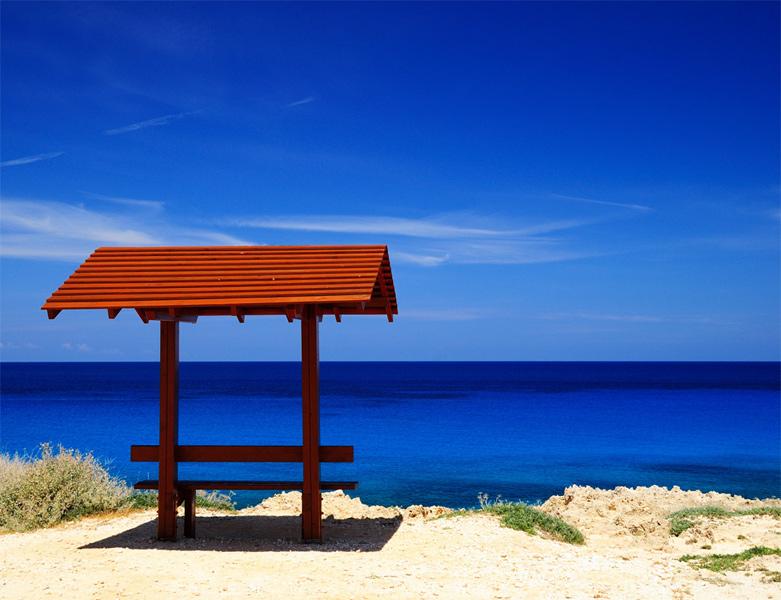 Кипр. Мыс Греко. Просто беседка. 1