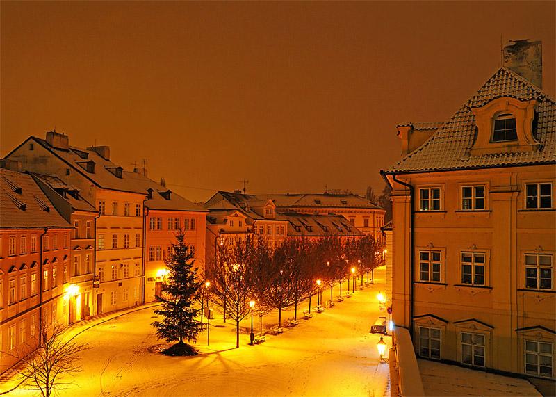 Прага в ноябре. Исходник.