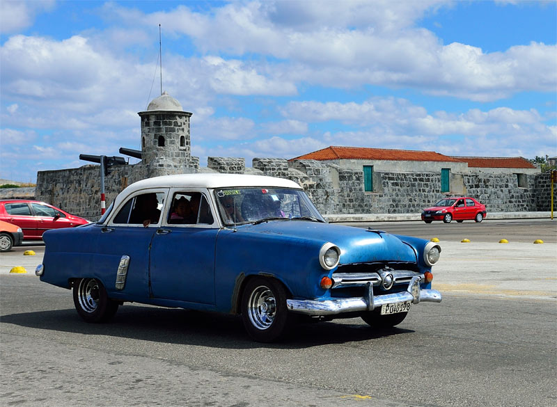 Куба. Ретро автомобили. Cuba. Retro Cars. 145