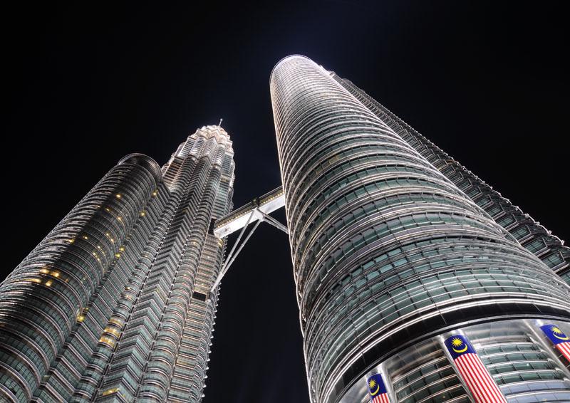 Петронасы ночью. Night Petronas. 5