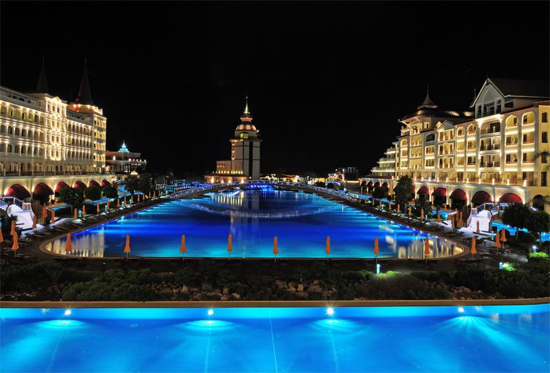 Мардан Палас. Ночью. Mardan Palace. 1