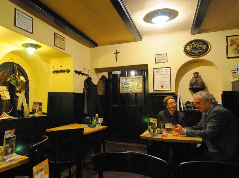 Вена. Пивной ресторан Бирклиник. Gosser Bierklinik. Vienna. 18