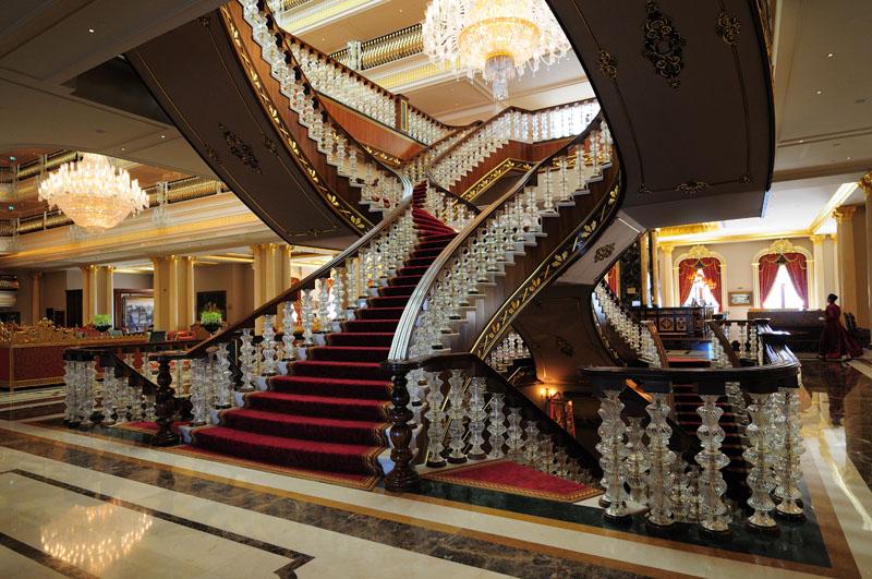 Мардан Палас. Лобби. Лестница. Mardan Palace. 18