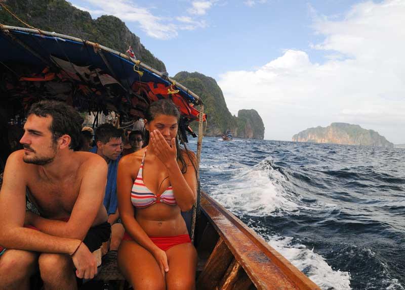 Пи-Пи Дон - Пи-Пи Ле. На лодке. 77