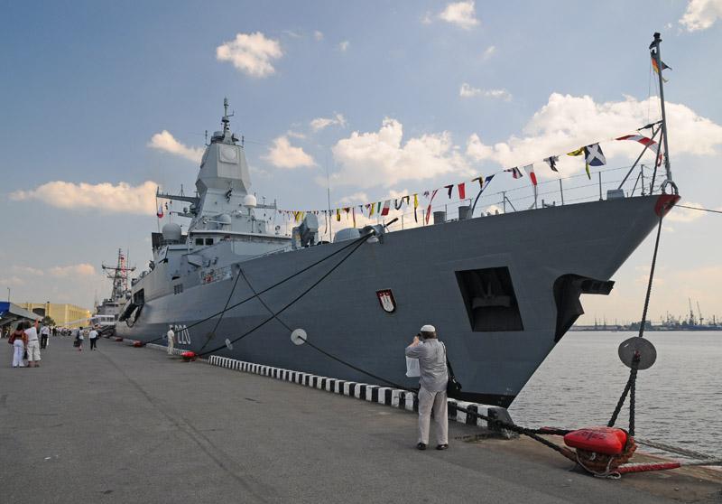 МВМС-2011. Фрегат Гамбург. IMDS-2011. Frigate Hamburg. 39