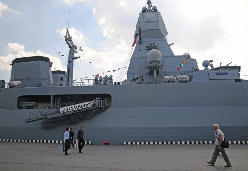 МВМС-2011. Фрегат Гамбург. IMDS-2011. Frigate Hamburg. 41