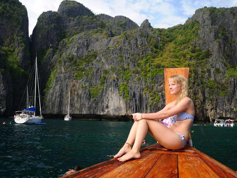 Пи-Пи Дон - Пи-Пи Ле. На лодке. Сноркелинг. 99