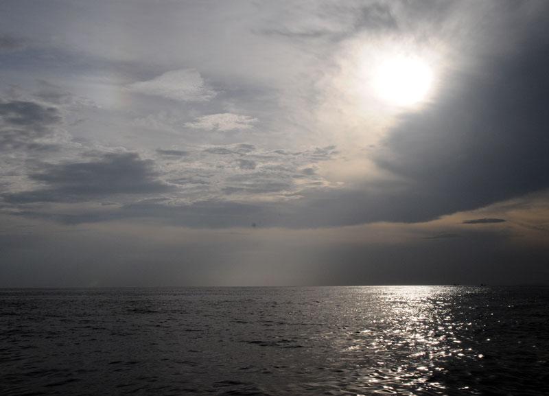 Пи-Пи Ле. Идём на лодке с острова Пи-Пи Дон. 163