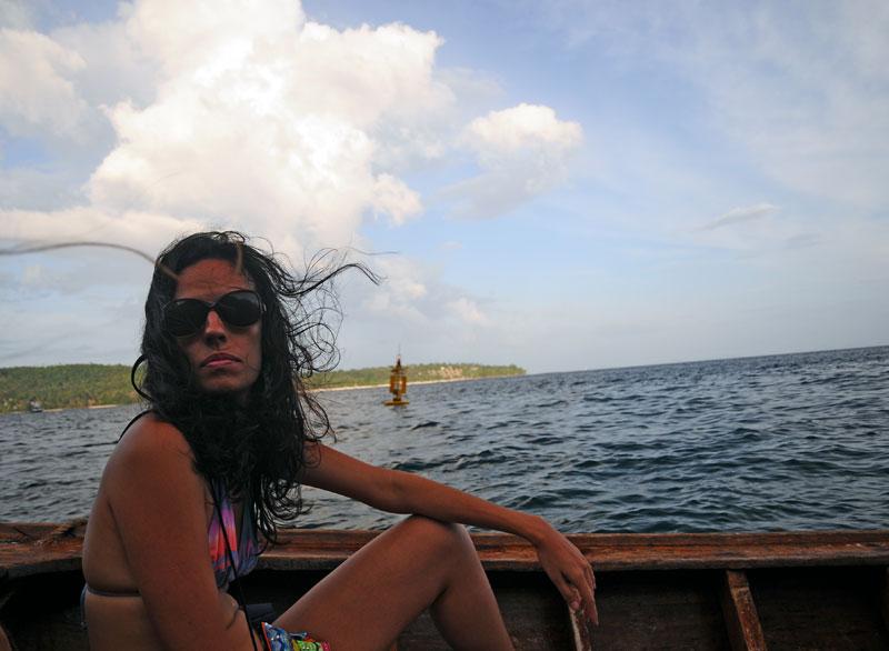 Пи-Пи Ле. Идём на лодке с острова Пи-Пи Дон. 175