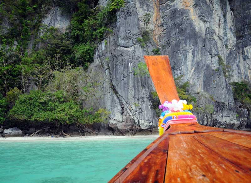 Пи-Пи Ле. Идём на лодке с острова Пи-Пи Дон. 176
