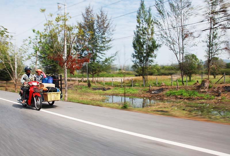 Таиланд. Дороги. Thailand. Road. 3.