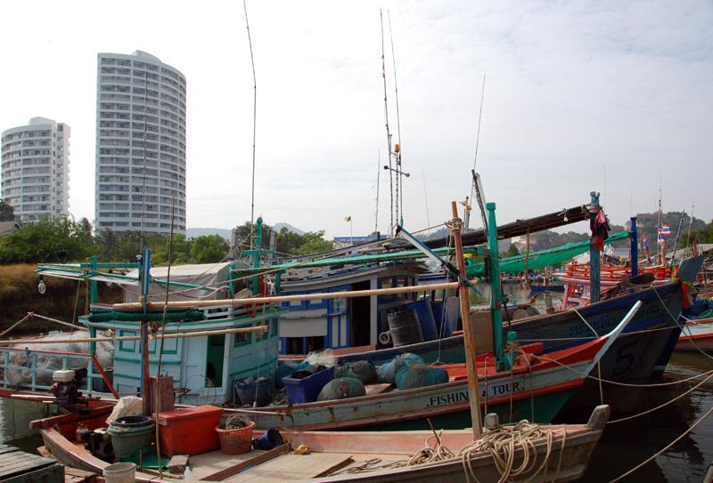 Хуахин. Рыбацкая деревня. Hua Hin. Fishing Village. 6.