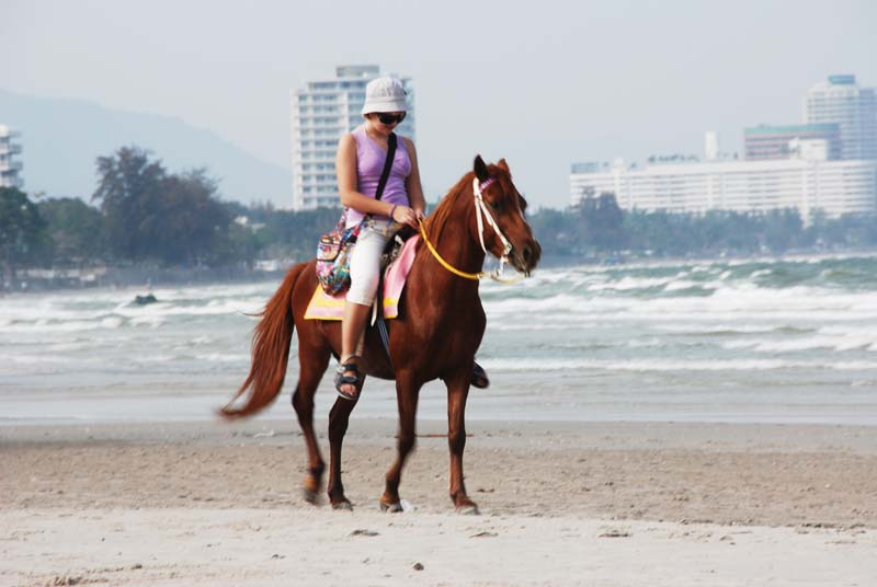 Хуахин. Пляж. Hua Hin. Beach.