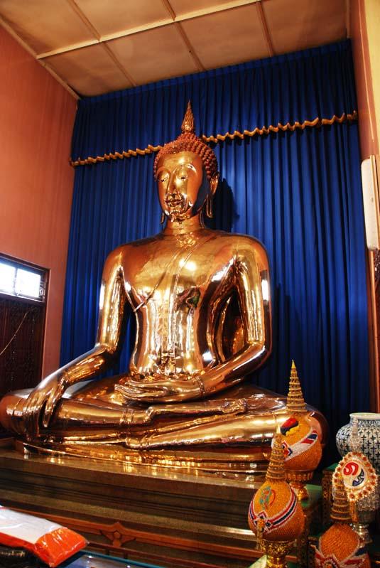Бангкок. Золотой Будда. Bangkok. Golden Budda.