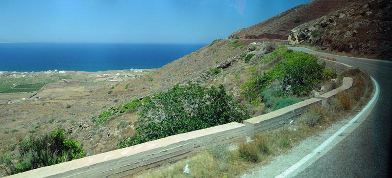 Санторини. Ия - Фира. Santorini. Oia - Fira. 175