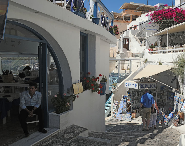 Санторини. Фира. Santorini. Fira. 212