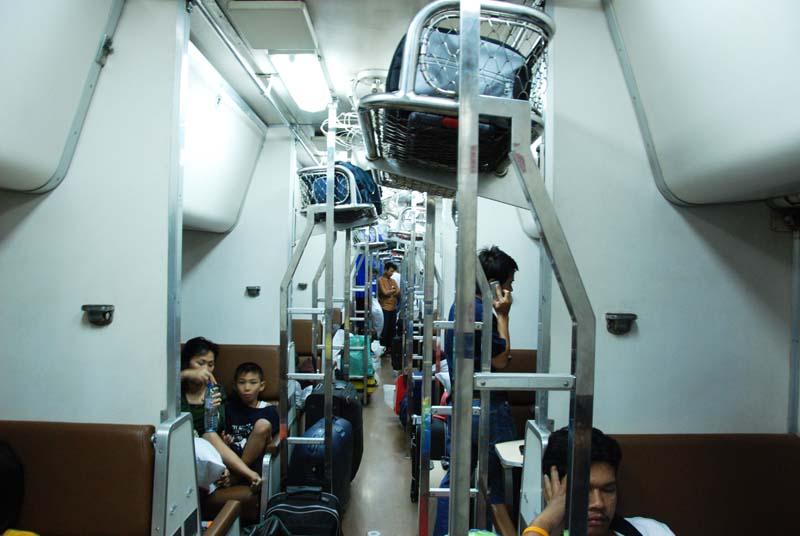 Бангкок-Хат Джай. Вагон A.N.S. Bangkok. A.N.S.