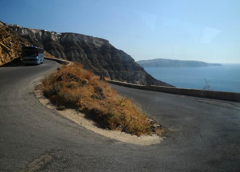 Санторини. Порт - Фира. 51