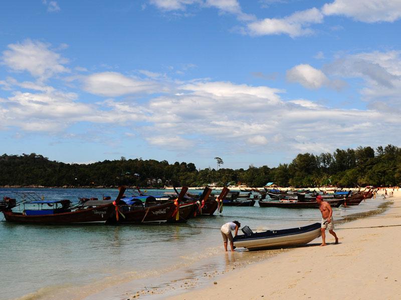 Ко Липе. Пляж Паттайя. 81