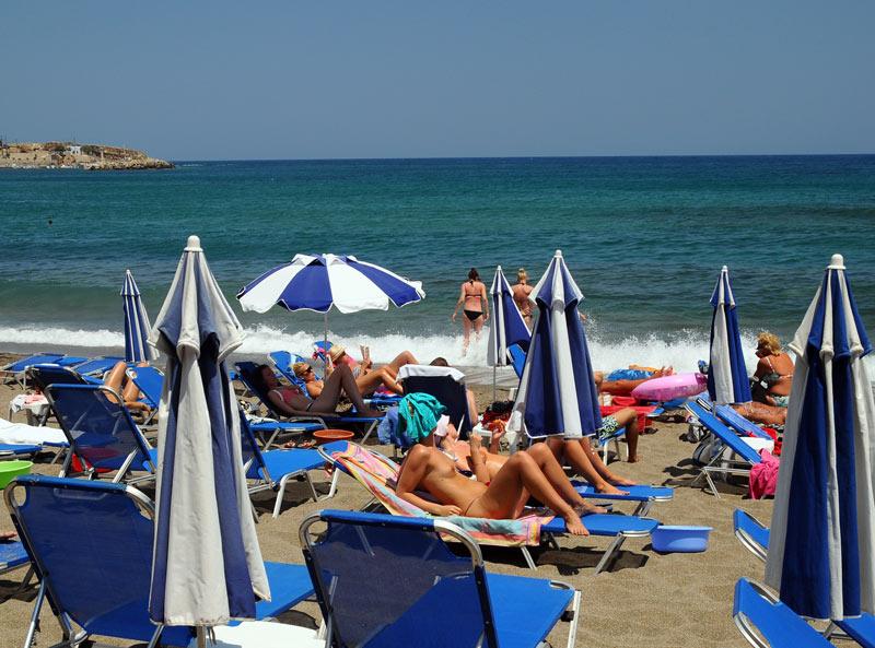 Крит. Херсониссос. Пляжи. 48
