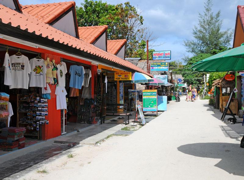 Ко Липе. Пешеходная улица. Koh Lipe. Walking Street. 114
