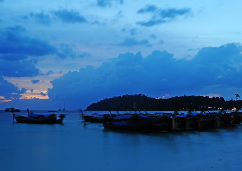 Ко Липе. Пляж Паттайя на закате. 105