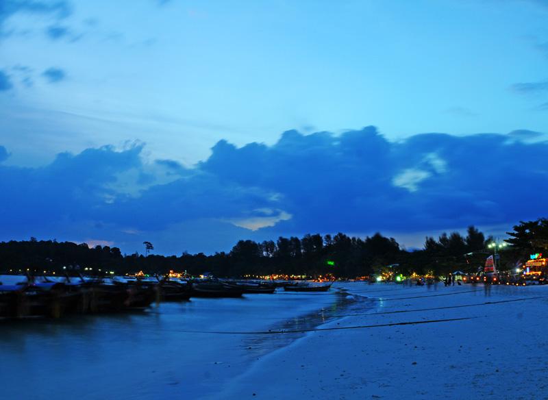 Ко Липе. Пляж Паттайя на закате. 106