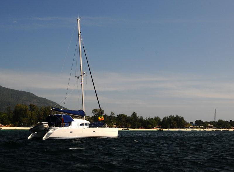Идём на остров Ко Аданг с Ко Липе. 25