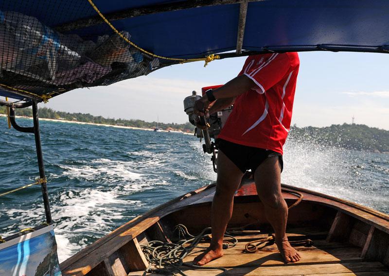 Идём на остров Ко Аданг с Ко Липе. 29