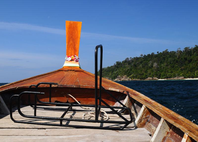 Идём на остров Ко Аданг с Ко Липе. 30