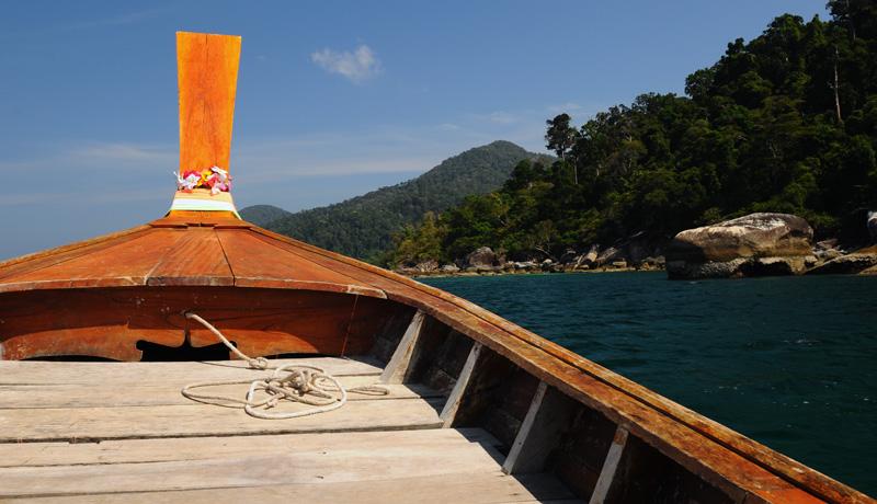 Идём на остров Ко Аданг с Ко Липе. 48