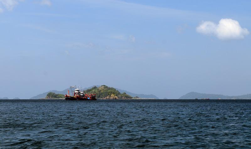 Идём на остров Ко Аданг с Ко Липе. 49