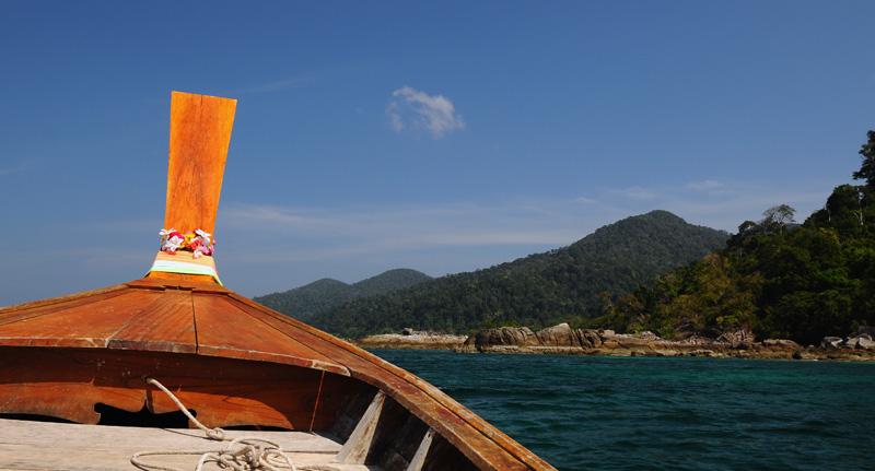 Идём на остров Ко Аданг с Ко Липе. 50