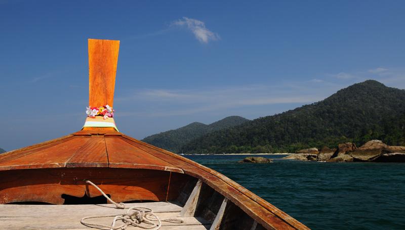Идём на остров Ко Аданг с Ко Липе. 52