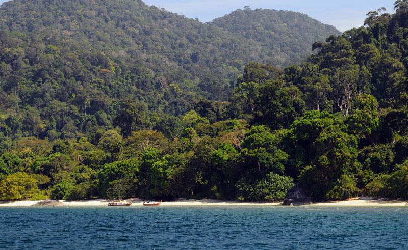 Идём на остров Ко Аданг с Ко Липе. 56