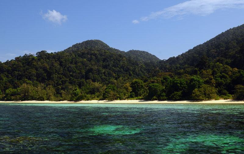 Идём на остров Ко Аданг с Ко Липе. 58