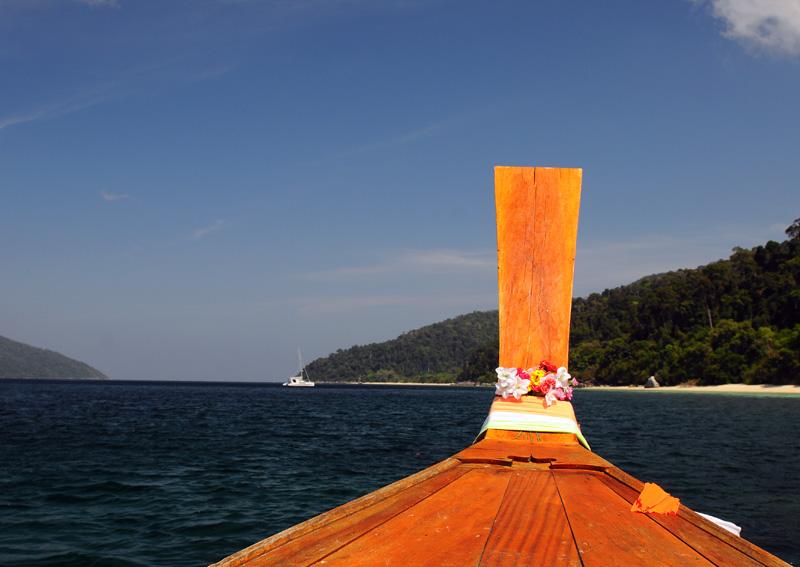 Ко Аданг. Идём на остров с Ко Липе. 62