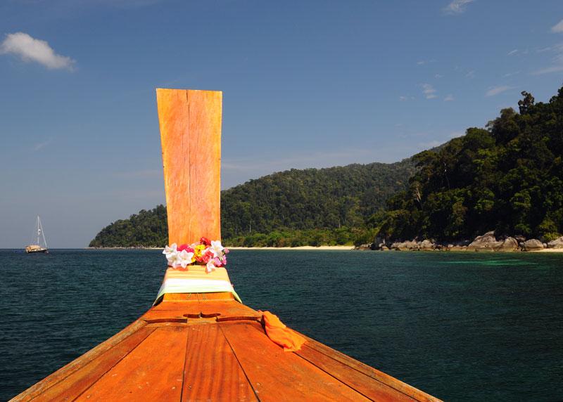 Ко Аданг. Идём на остров с Ко Липе. 74
