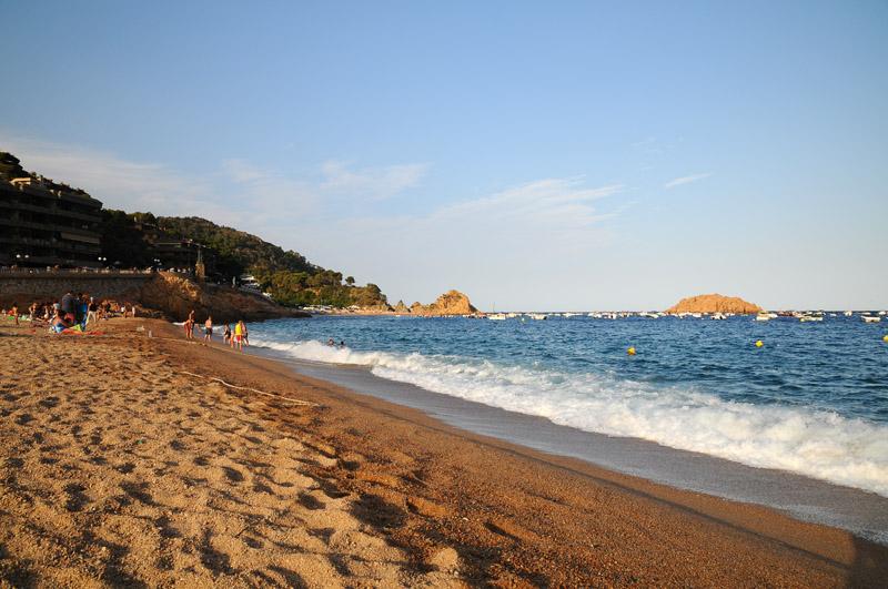 Тосса де Мар. Пляж. Tossa de Mar. Фото 31.